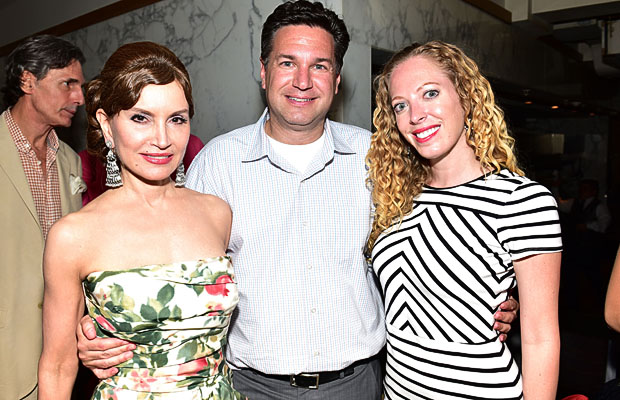 Jean Shafiroff, Michael Travin, ?== RESIDENT Magazine Cover Party for Jean Shafiroff== Village On The Park, NYC== May 27, 2015== ©Patrick McMullan== Photo - Sean Zanni/PatrickMcMullan.com== ==