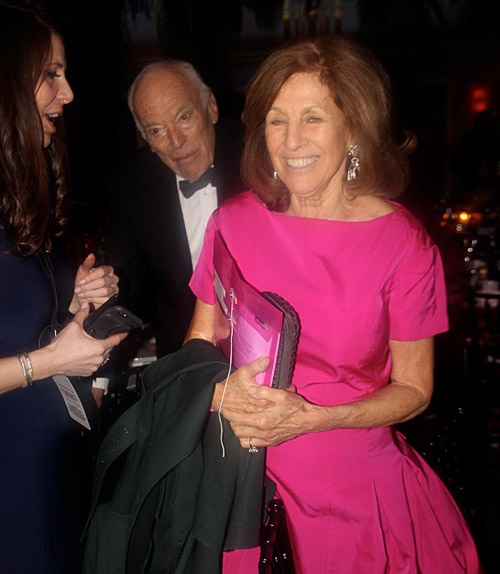 Business mogul Leonard Lauder and wife Judy