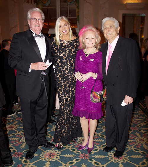 Famous litigator Tom Duffy, breast cancer survivor and board member Mary Bryant McCourt, and philanthropists and board members Jane and Joe Pontarelli