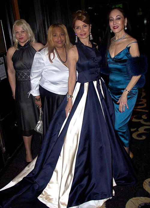 Karina Tatarski, Flo Anthony, Jean Shafiroff and Lucia Hwong Gordon