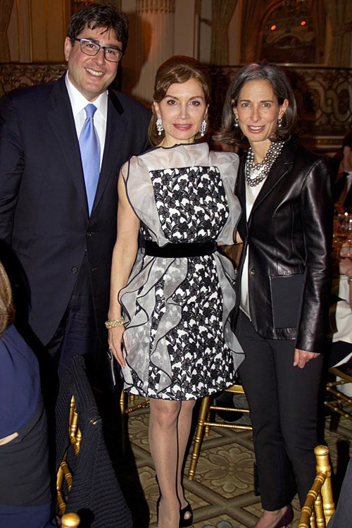 UJA President Eric Goldstein with philanthropists Jean Shafiroff and Alice Tisch