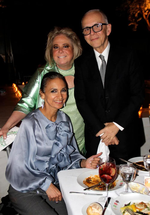 Author Susan Fales-Hill, Real Estate doyenne Joanna Fisher, and famous interior designer Robert Couturier