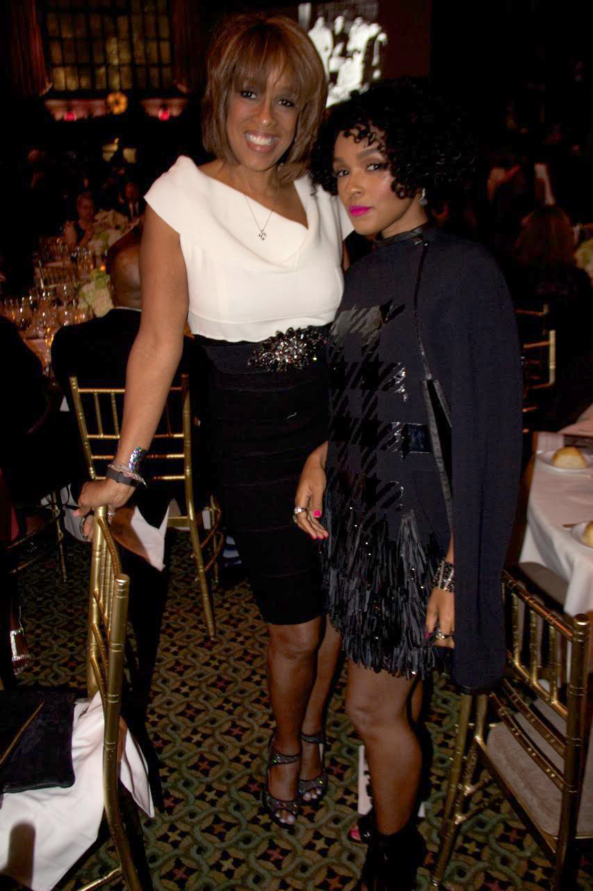 CBS This Morning Host Gayle King and singer Janelle Monae
