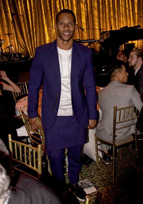 NY Giants Wide Receiver Victor Cruz
