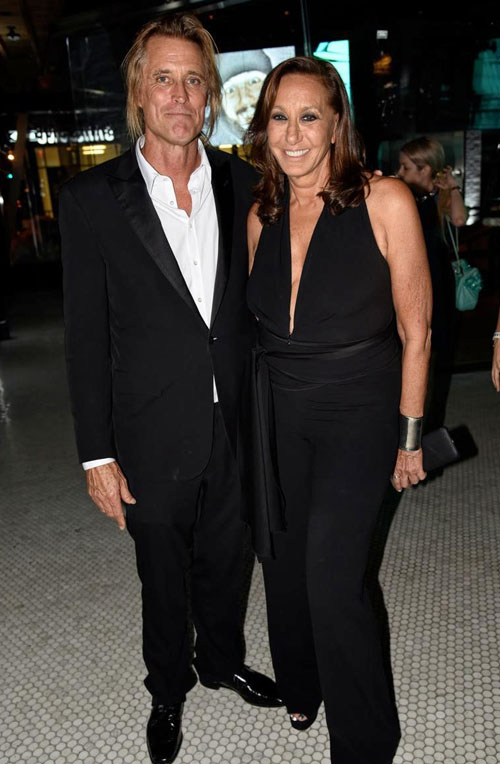Russell James and Donna Karan